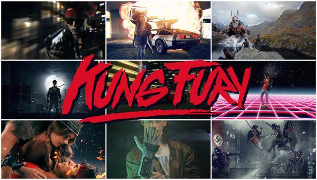 KUNG FURY!