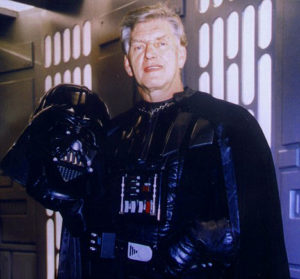 Darth Vader before the voice over was David Prowse