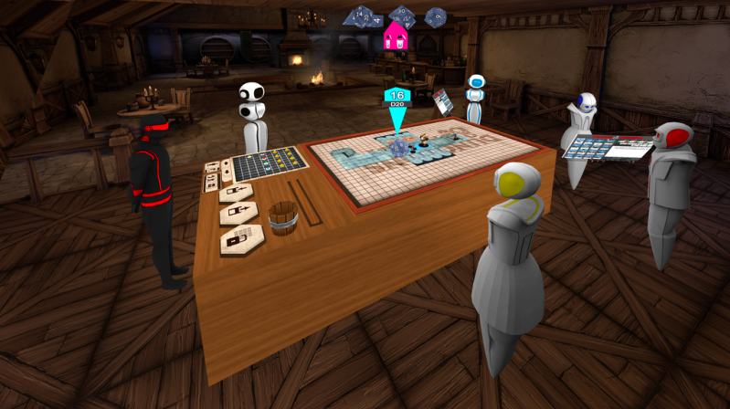 Sit around a virtual table and have adventures!