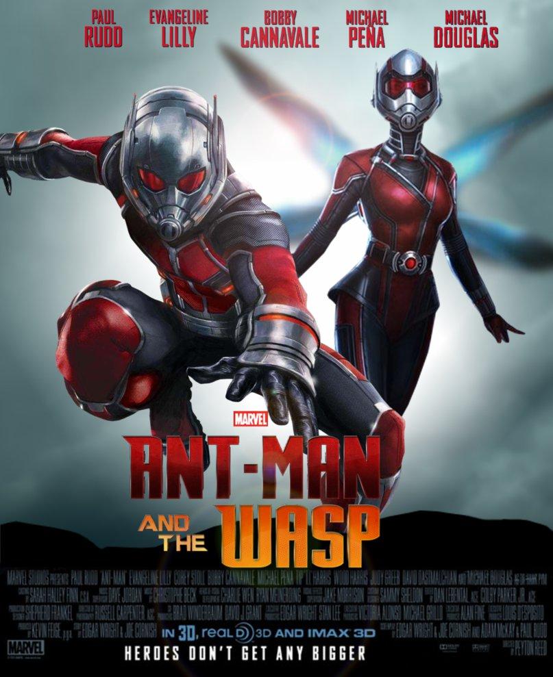Bildergebnis für Ant-man and the Wasp filmplakat